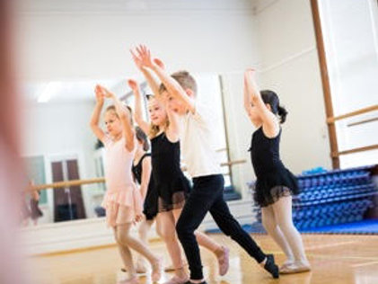 Big Leaps - Pre Ballet 2 - (45 min) Saturdays 10:30 -11:15