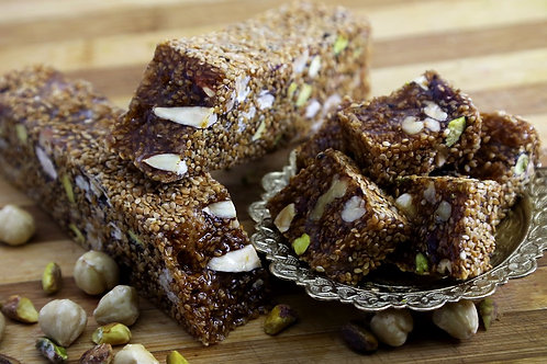 Sesame seeds & Mixed Nuts Turkish delight