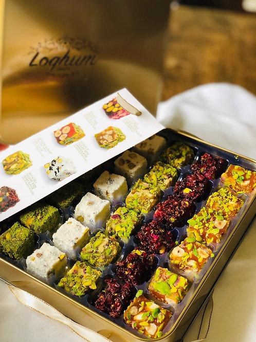 Assorted Turkish Delight Gift Box 16 oz