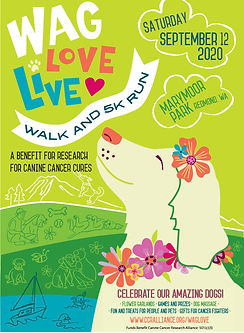 Wag Love Life 5k poster 2020