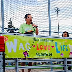 Veterinary doctors at Wag Love Life 5k