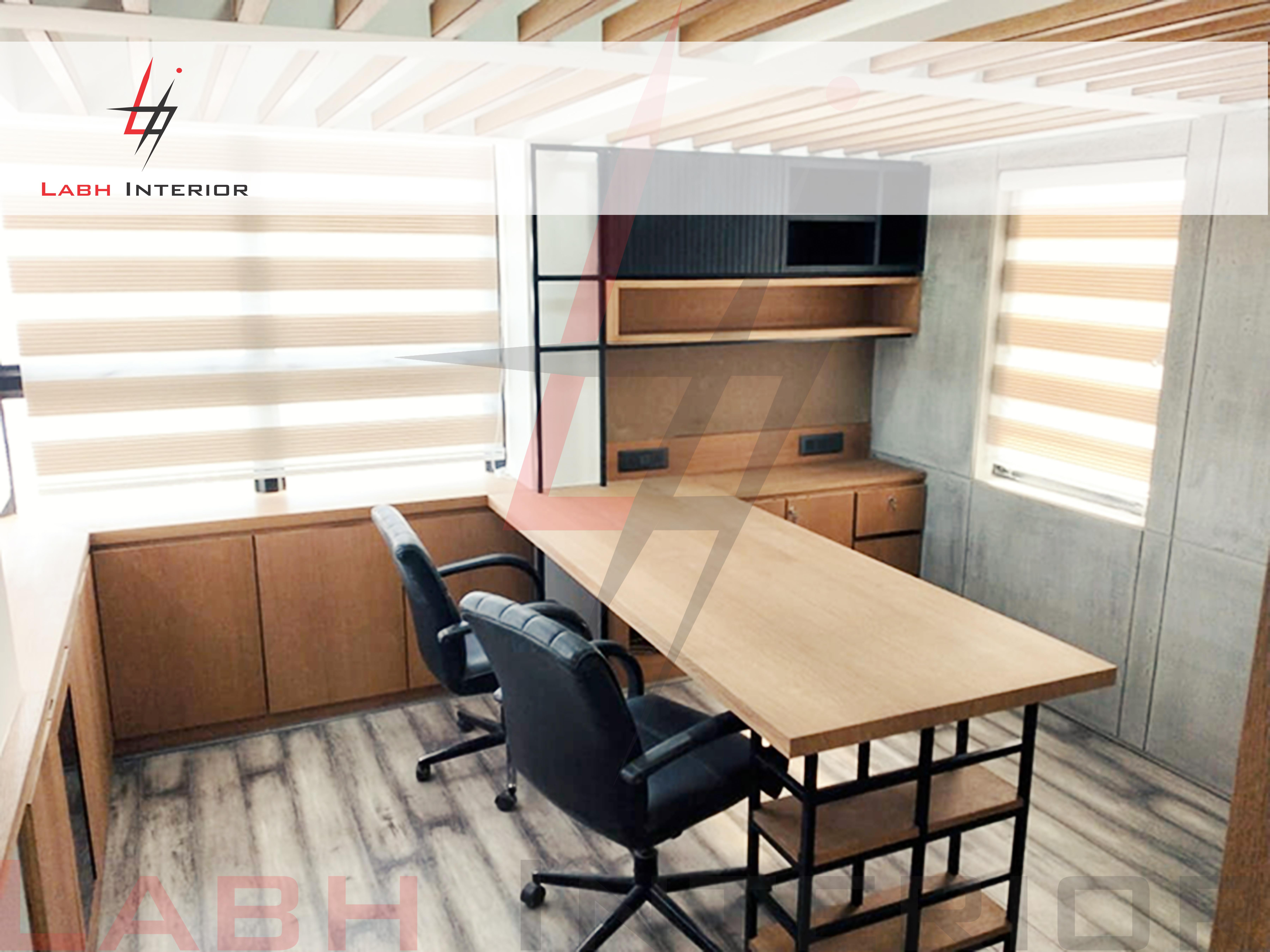 Boss office interior