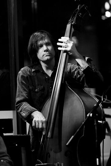 Paul playing upright bass