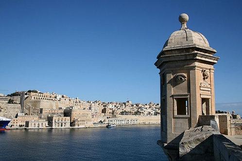The Invincible city and Malta's Grand Harbour