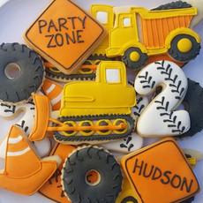 Hudson's birthday is under construction.