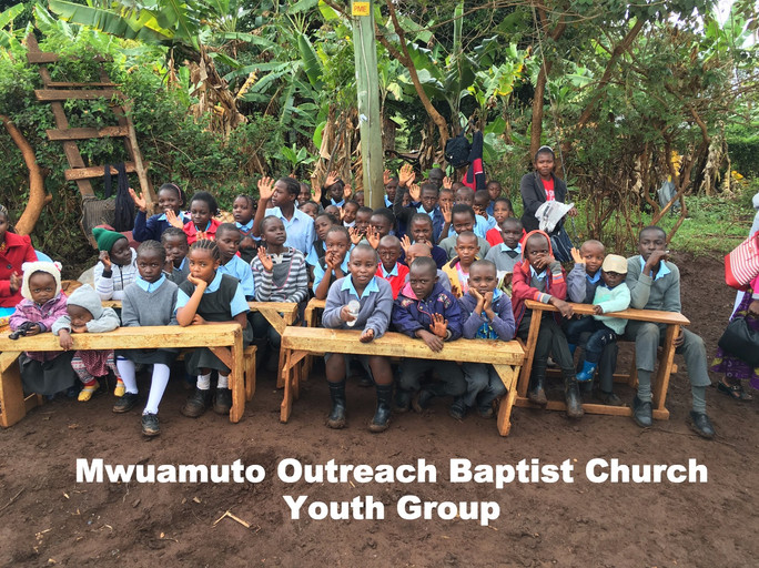Over 100 children attending the Mwuamuto