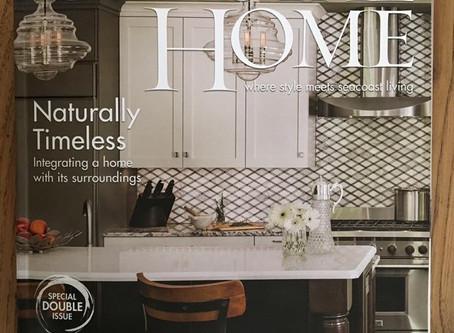 We made the Cover of Coastal Home Magazine!