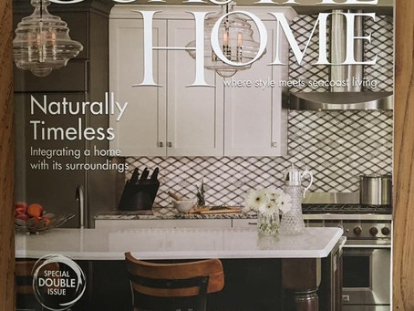 We made the Cover of Coastal Home Magazine!