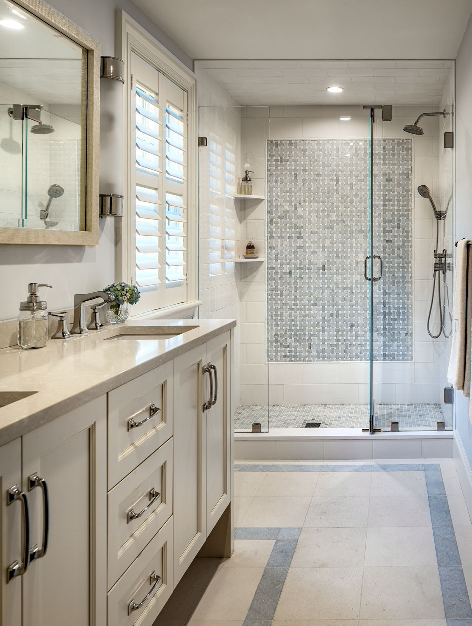Tile With Classic White