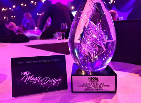 """NKBA 2017 Design Competition Winners """"The Magic of Design"""""""