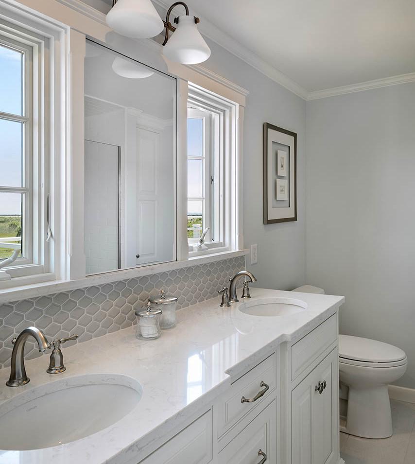 Classy Beach House Bath
