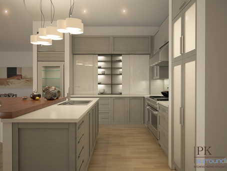 PK Surroundings designs Kitchen and Baths for 233 Vaughan Street in Portsmouth