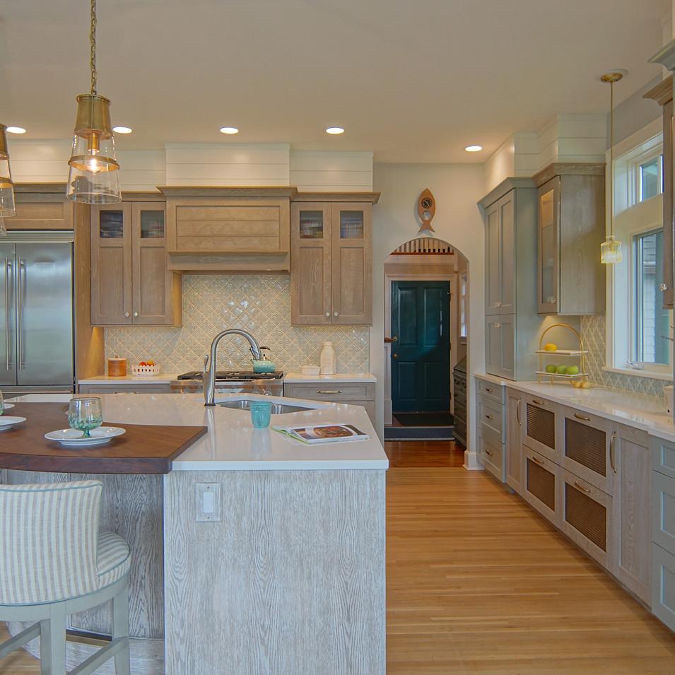 A Colorful Cape Neddick Kitchen