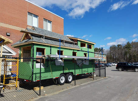 Two Tiny Homes Being Built at Exeter SST!