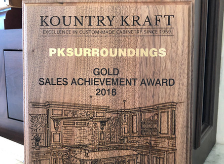PKsurroundings reaches the Gold level for Kountry Kraft Sales