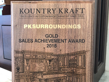 PKsurroundings reaches the Gold level for Kountry Kraft Sales