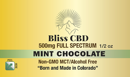 500mg Mint Chocolate