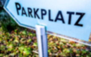parking sign in germany - translation_ p