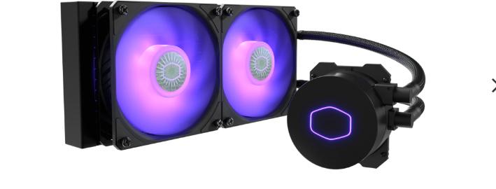 Oppgradering Cooler Master ML240L V2 RGB
