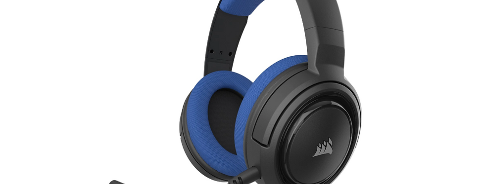 Corsair Gaming HS35 Headset Blå