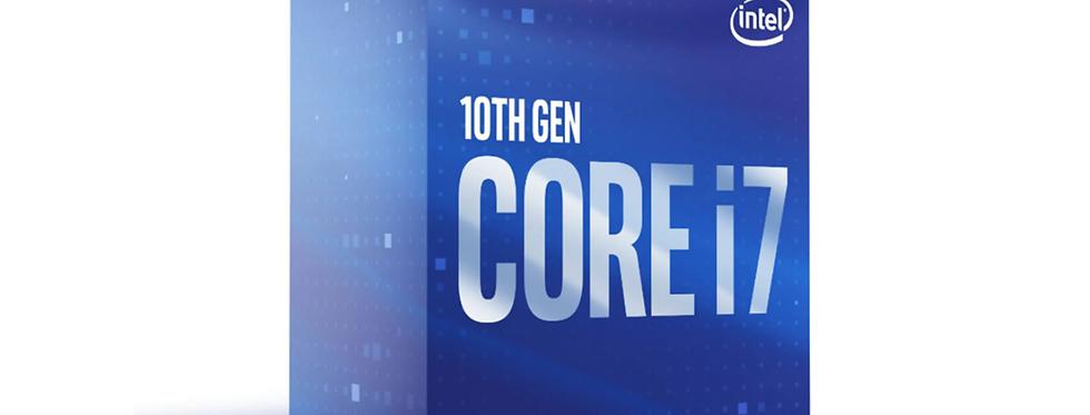 Oppgradering Intel Core i7-10700