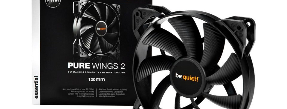 Be Quiet! Pure Wings 2 PWM 120mm Vifte