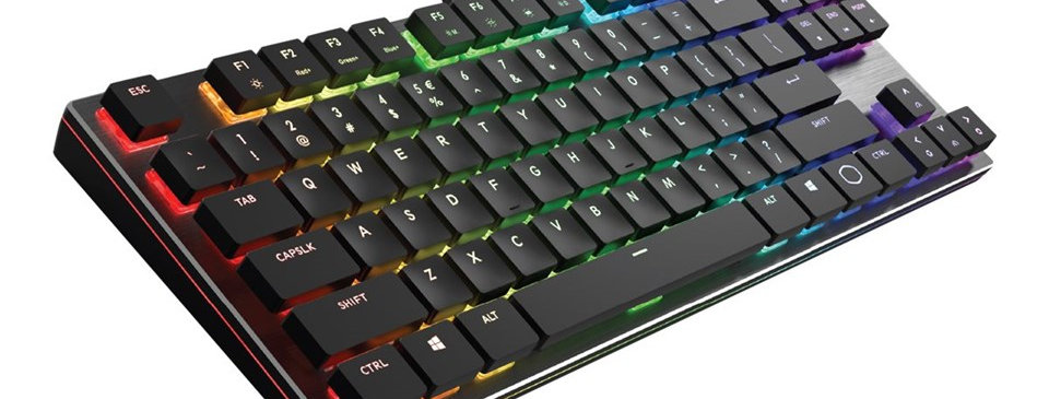 Cooler Master SK630 Gaming Tastatur Sort