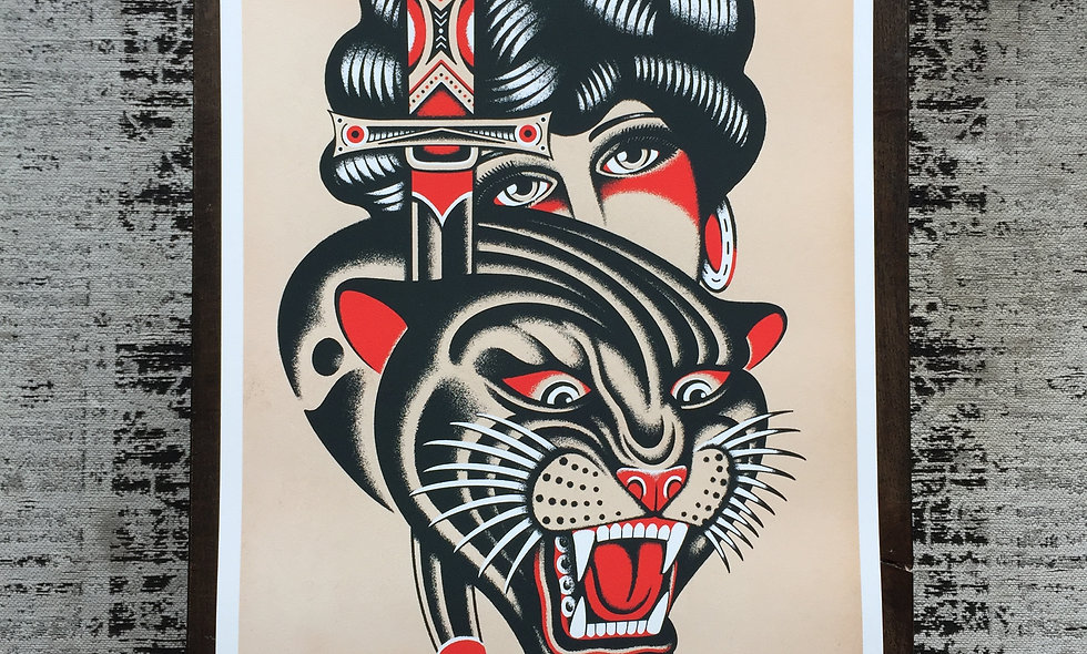 Panther Dagger & Lady