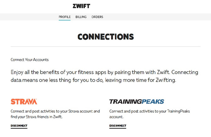 How to link Zwift to your TrainingPeaks | Strava | Garmin account