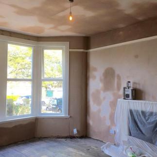 damged walls