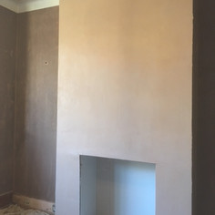 Complete chimney breast