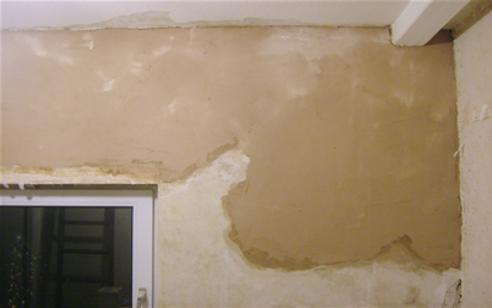 plastering, walls, ceiling