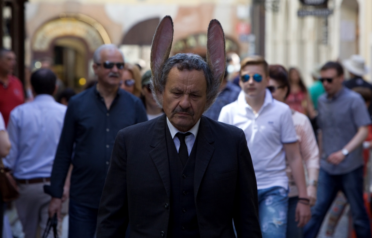 THE MAN WITH HARE EARS