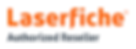 Laserfiche Authorised Reseller Logo