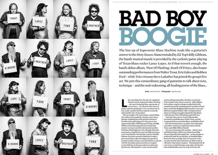 Supersonic Blues, Guitarist Magazine