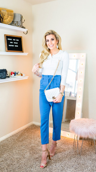 3 Spring Work Wear Outfits