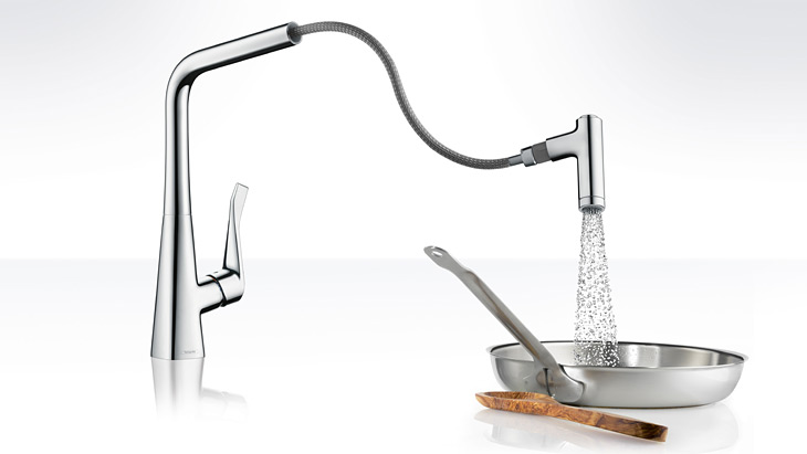 Hansgrohe Metris Kitchen Mixer