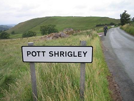 Pott shrigley sign and ope moor