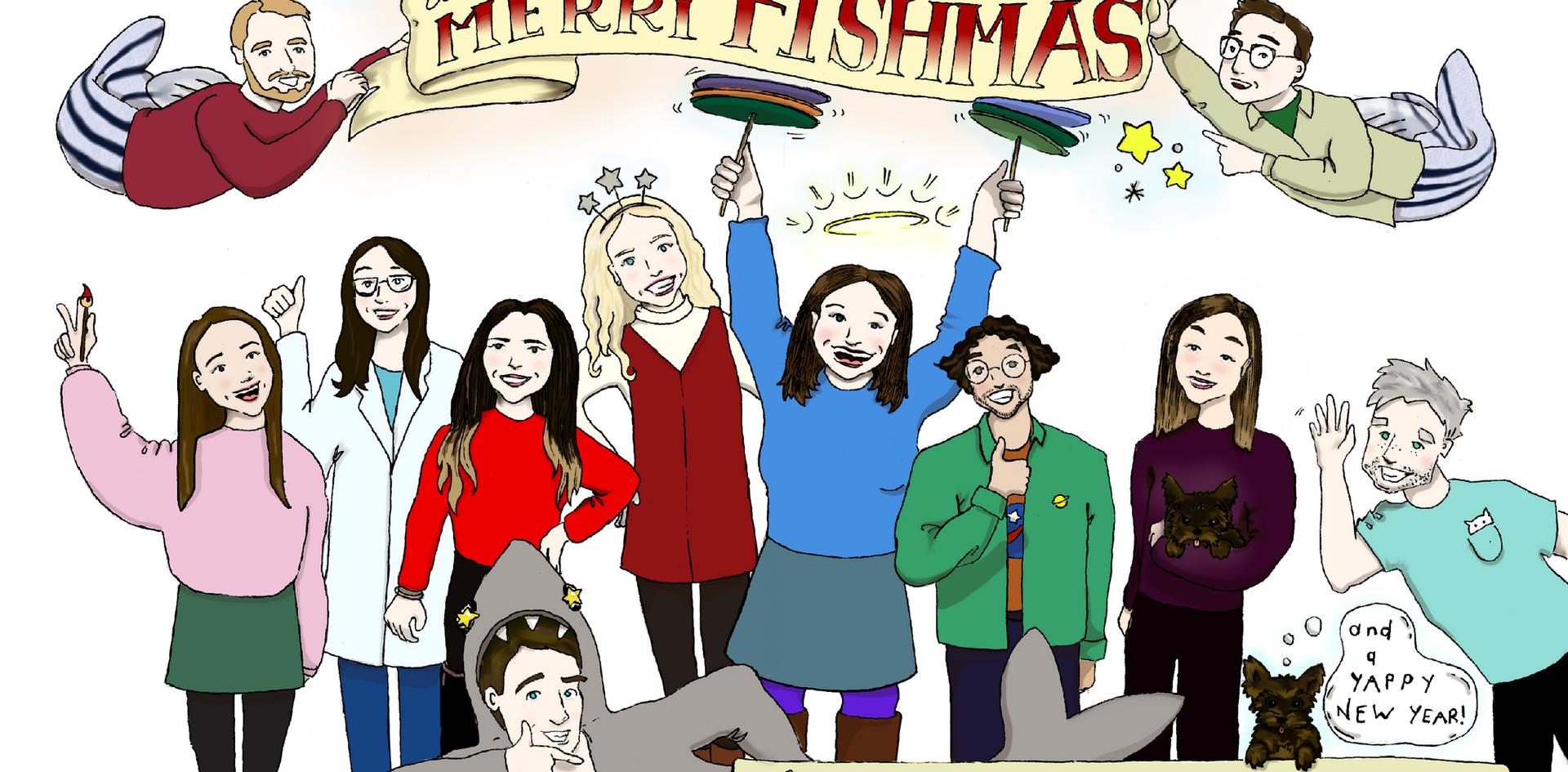 Hammond Lab Christmas card