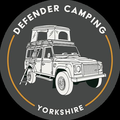Defender Camping Magnet