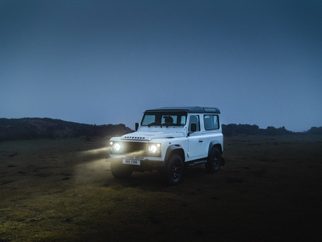 Tom Kahler - Takes our Defender 90 for a spin around Yorkshire