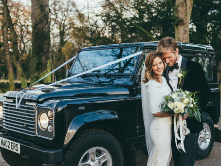 Land Rover Monthly - Get to the church in style