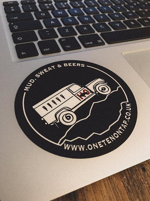 110 Beer Wagon Sticker