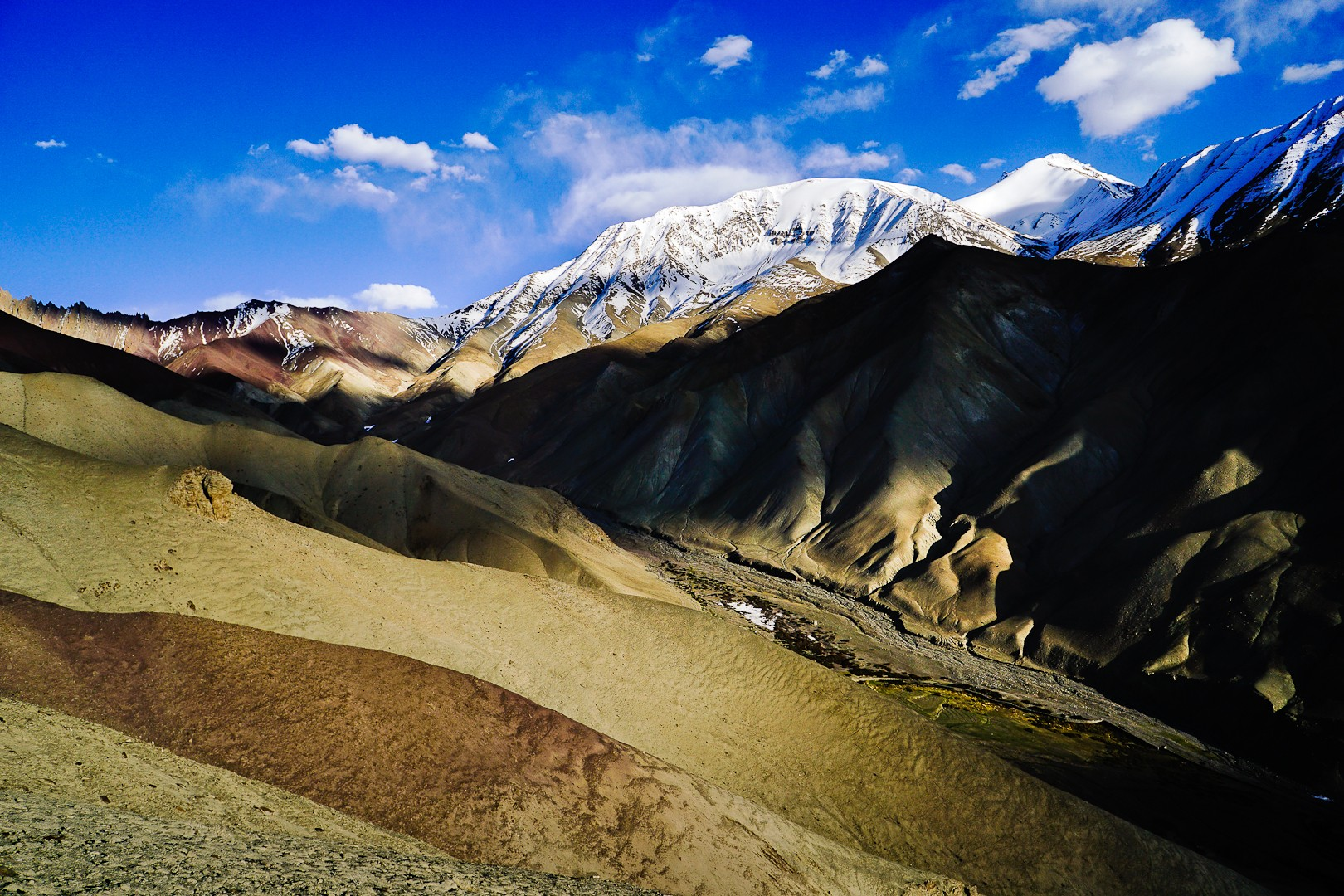 Gra światła. Himalaje. Ladakh.