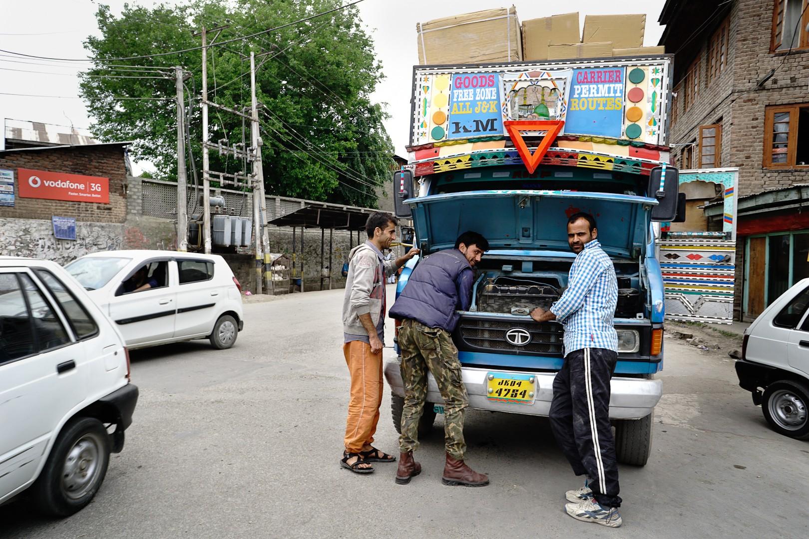 Stare miasto. Srinagar.