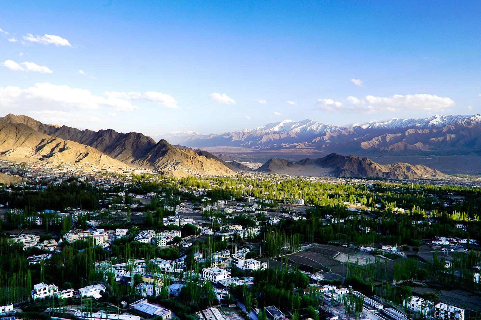 Stolica Ladakhu. Leh.