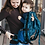 Thumbnail: Porte-bébé préformé bio LIMAS Flex - Pava Ocean