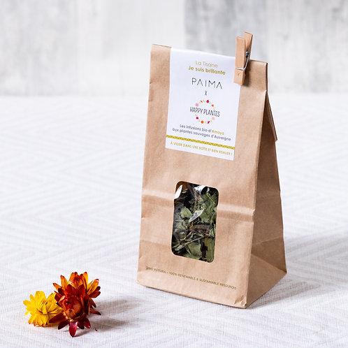"La tisane ""Je suis brillante"" BIO - Happy Plantes x Païma - 25gr"