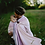 Thumbnail: Ring Sling Littlefrog Taille M - Lovely Lilac