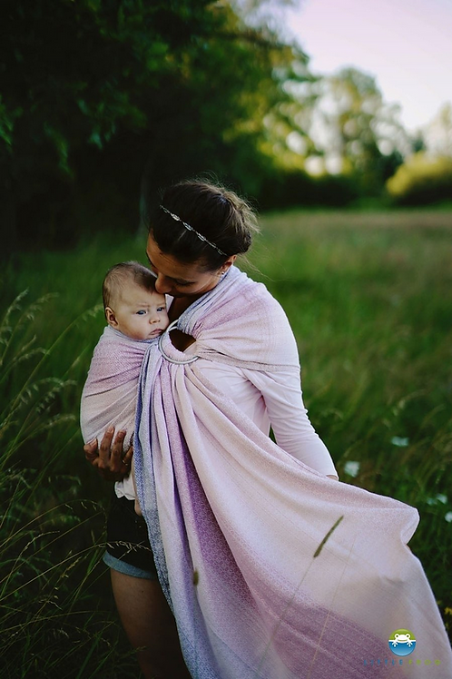 Ring Sling Littlefrog Taille M - Lovely Lilac